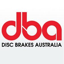 DBA 52910.1S 5000 Slotted 2-Piece Front Brake Rotor Ring For Dodge Charger