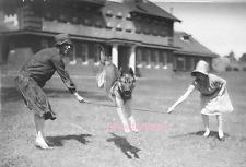 Dog Jumping Rope. 8 x 10 Vintage Photo Reprint Ships Free.