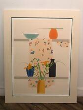 Listed PA Artist ELIZABETH OSBORNE Signed & Numbered Serigraph SUMMER LILIES