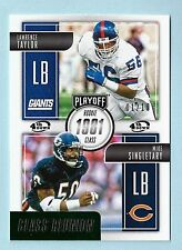 LAWRENCE TAYLOR MIKE SINGLTARY 2016 PLAYOFF CLASS REUNION # 1/10