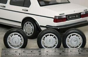 1:18 Volkswagen Golf GTi 'RONAL PIRELLI P-SLOT Wheels & Tyres MODIFIED TUNING VW