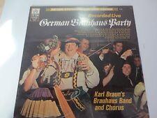 "KARL BRAUN~German Brauhaus Party~LIVE~Factory Sealed 12"" Vinyl LP Record TS-76"