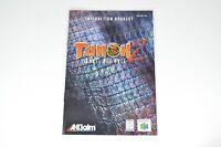 Turok 2 Seeds of Evil Nintendo 64 N64 Instruction Booklet ONLY