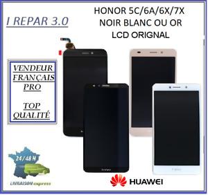 Ecran + lcd origine  Honor 5C/6A/6X/6/7A/7X/7/8X  Noir/Blanc/Or-honor 10+chassis