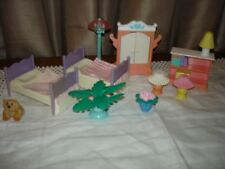 Rare Fisher Price dolls house furniture
