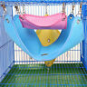 Small Animal Pet Hammock Cage Hanging Bed For Rat Hamster Ferret Parrot Mouse