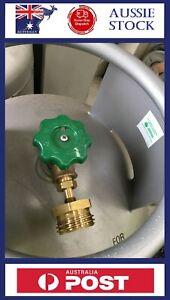 LPG Caravan Tank Cylinder Adaptor Car Fits POL BBQ Gas Bottle Filling Adapter