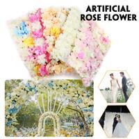 DIY Artificia lWedding Rose Flower Panel Backdrop Wall Road Arch Decor L