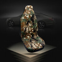 Auto Car Camouflage Seat Cover Front Seat Cover Bucket Breathable Protector Mat