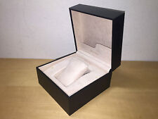Black Leather Leather Black -For 1 Watch New - Box Case Case Bvlgari Bulgari -
