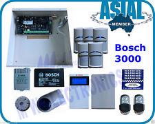BOSCH ALARM Solution 3000 Kit 16 Zones System 5 PIR 2 Remote Free Programming