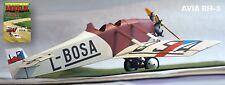 Modelik 20/10 -  AVIA BH-5 (1923)  1:33 mit Lasercutteilen