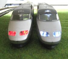 NEW éclairage inversé blanc ou jaune & rouge TGV GAMME JOUEF neuf