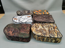 ATV Luggage Rack Passenger Seat (Complete seat with base) in 7 CAMO OPTIONS (W)