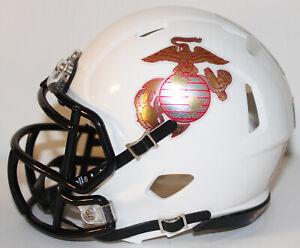 2021 Navy Midshipmen Custom Riddell Mini Helmet vs Air Force