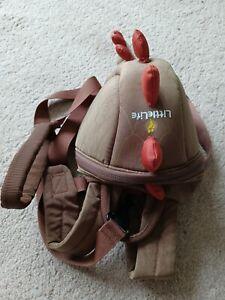 Littlelife ~  Dinosaur Backpack/Rucksack With Reins.