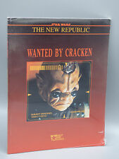 Star Wars The New Republic Wanted by Cracken RPG West End Games 40062 New