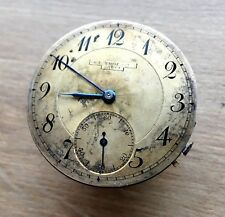 ✩ Antique Ch.F. Tissot & Fils Pocket Watch Mechanism with DIAL rare SWISS MADE