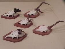 5 piezas anormal cornamentas de ciervos #23.18 Ideas Regalo decoración