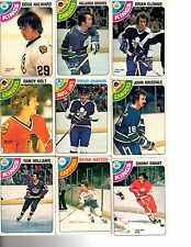 1978-79 O-P-C You Pick 'em BIG lot cheapest on ebay $1 for 4, .25 cents each