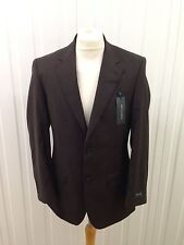 Mens Racing Green Blazer/Jacket - 38R - Brown - Brand New With Tags!