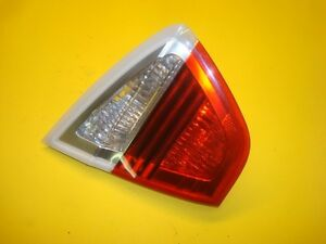 07 08 BMW E90 335xi Tail Light Lamp Left Driver Rear Trunk Lid