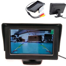 4.3Inch TFT LCD Color VCR Monitor for Car Reverse Rear View Backup Camera DVD
