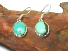 Tibetan  TURQUOISE   Sterling  Silver  925  Gemstone  EARRINGS  - Gift Boxed