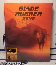 BLADE RUNNER 2049 4K ULTRA+3D+2D BLU-RAY FULL SLIP XL STEELBOOK! FILMARENA ED.3