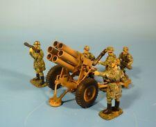 Lineol/Elastolin-Wehrmacht – Metal - 15 cm nebelwerfer 41 – 7cm serie
