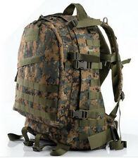 Airsoft Tactical US Army Hunting 3Day Molle Assault Backpack Digital Woodland