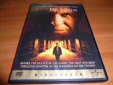 Red Dragon (DVD, 2003, Widescreen) Anthony Hopkins Used (Hannibal Lecter)