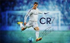 Cristiano Ronaldo CR7 Football Star Art Wall Poster 40x24 inch CR26