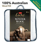 Tontine Australian Wool Quilt Doona Duvet Winter Wool Single-Double-Queen-King