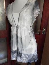 Per Una *Speziale Long-line Lace & Net Overtop  & camisole 14  BNWT £38 *BNWT*