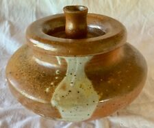 Clay Cooking Pot from India Handmade Glazed           IM0497