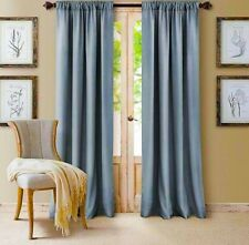 French Blue Curtains 2 Panels