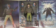 The Thing NECA Figure Ultimate MacReady Target Exclusive (Outpost 31) rare