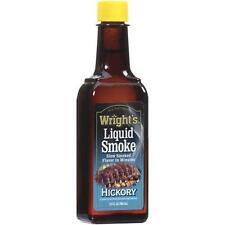 Wright's HICKORY LIQUID SMOKE SEASONING, One 3.5 oz. Bottle, FREE USA SHIPPING