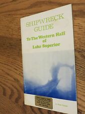 Shipwreck Guide To The Western Half of Lake Superior, MN Minnesota