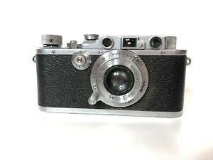 Vintage 1936 Leitz Leica IIIa ELW (Mod G) Chrome Rangefinder + 50mm lens 171178