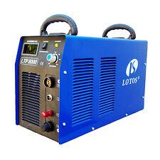 "Plasma Cutter Pilot Arc 220V IGBT 80Amp New Lotos LTP8000 Cuts 1"" Steel Metals"