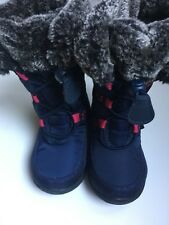 Kamik Kids Boots, Toddler Kids SIze 6-7 Blue