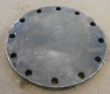 "BLIND FLANGE, 10"" PIPE, CLASS 150, SA105N, 16"" OD, RAISED FACE"