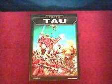 NEW * 2003 Warhammer 40k TAU Codex suppliment book * free shipping