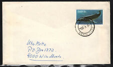 South West Africa Cover Rosh Pinah 08.05.1980 Wal Whale