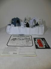 """Vintage Star Wars ESB 1980 Imperial Attack Base """"Complete"""" w/Darth & Troopers()"""