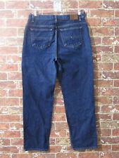 VTG Tommy Hilfiger High Waisted Mom Jeans 12 Dark Wash Tapered Leg Hipster VLV