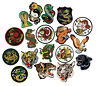 Martial Arts Animal Patches, Dragon , Tiger, Panther, Eagle, Snake Patch Sew-on