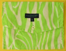 Lilly Pulitzer Lime Green Men's Pocket Sq Sunglass Case